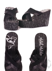 Metal Mulisha Rock Me Out Sandal