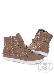 Studs Shoes, Khaki