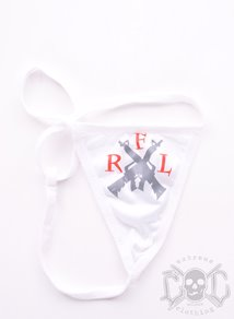 Rebel For Life AK47 Thong, Vit