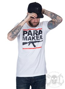 Rebel For Life Para Maker Men Tee. Vit