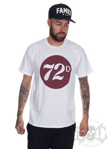 Depalma 72 Badge, White