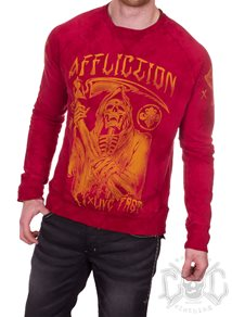 Affliction Horror Business Sweatshirt